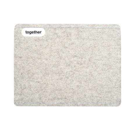 """Sleeve // iPad Pro 12.9"""" // 1st + 2nd Gen // Heather (Long Side Opening)"""