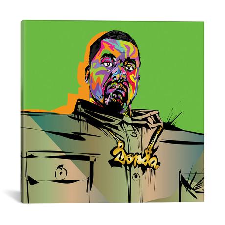 """Kanye Love It (18""""W x 18""""H x 0.75""""D)"""