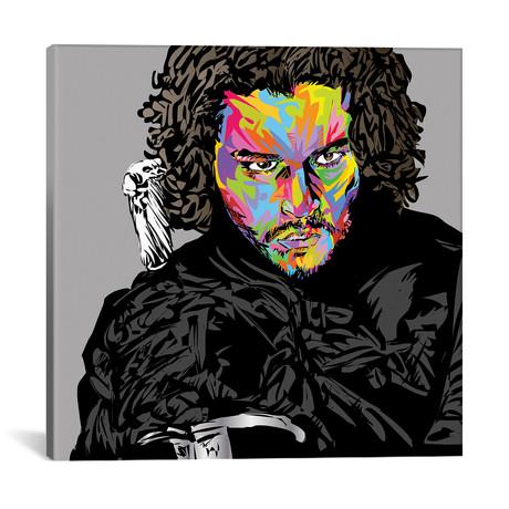 """Jon Snow (18""""W x 18""""H x 0.75""""D)"""