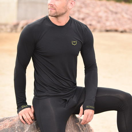 SHEATH Base Layer Top // Black (S)