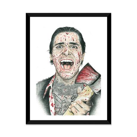 "American Psycho (16""W x 24""H x 1""D)"