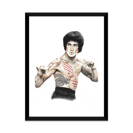 "Bruce Lee (16""W x 24""H x 1""D)"