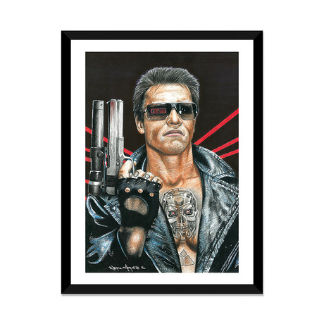 "Terminator (16""W x 24""H x 1""D)"