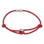 Trinity Rope Bracelet // Red