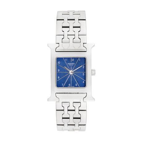 Hermès Ladies H Watch Quartz // HH1.210 // Pre-Owned