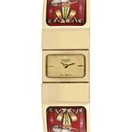 Hermes Loquet Bangle Enamel Paint Quartz // L01.201 // Pre-Owned