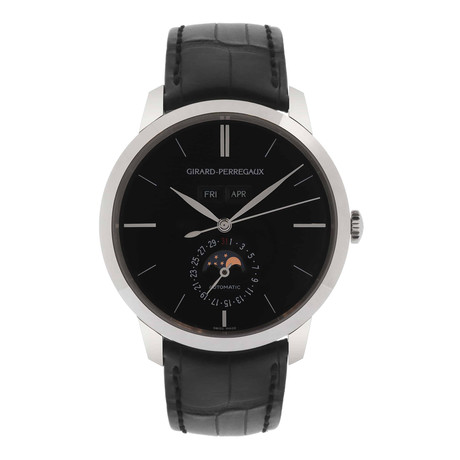 Girard Perregaux Vintage 1966 Big Date Moonphase Automatic // 49535.53.651.BK6A // Store Display