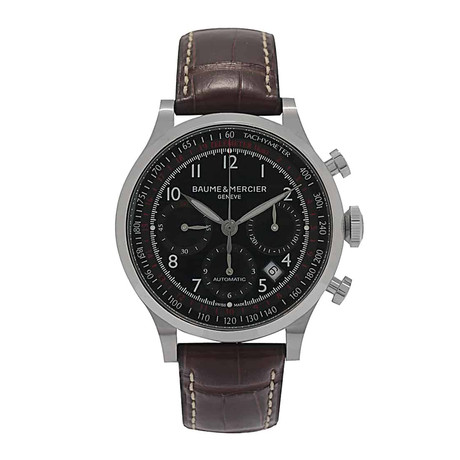 Baume And Mercier Capeland Chronograph Automatic // M0A10062 // Store Display