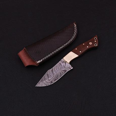 Damascus Skinner Knife // HK0321