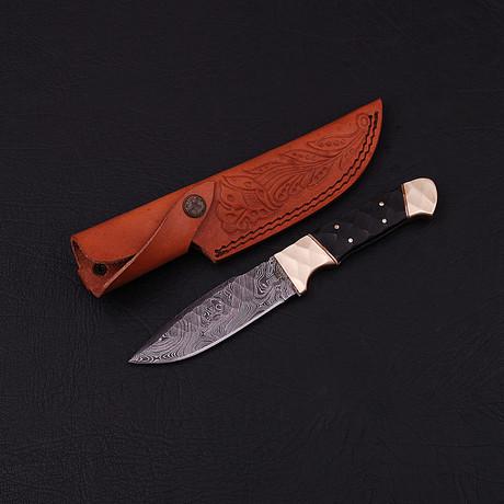 Damascus Skinner Knife // HK0325