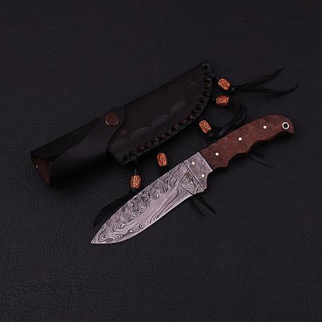 Damascus Skinner Knife // HK0327