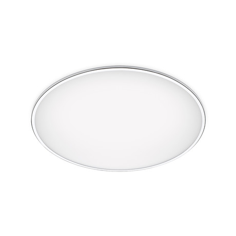 Big // Flush Mount Ceiling Lamp // White // 39.5""