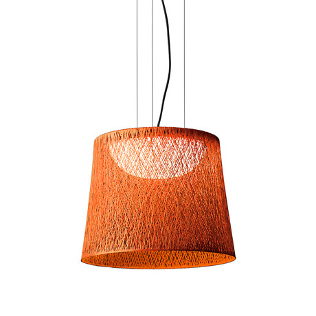 Wind // Outdoor Pendant // Orange Fiberglass