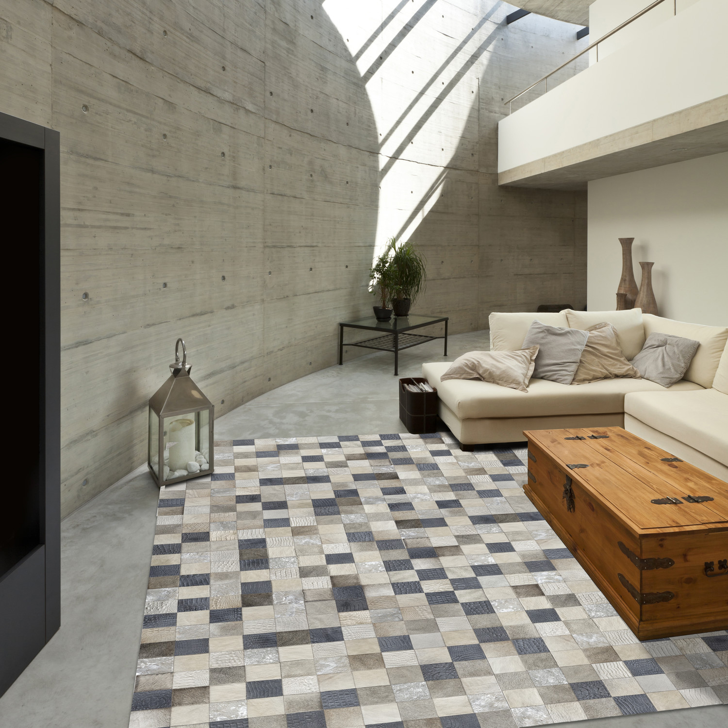 Tosca Rug // Infuse (5'L x 8'W) - Cowhide Gallery - Touch of