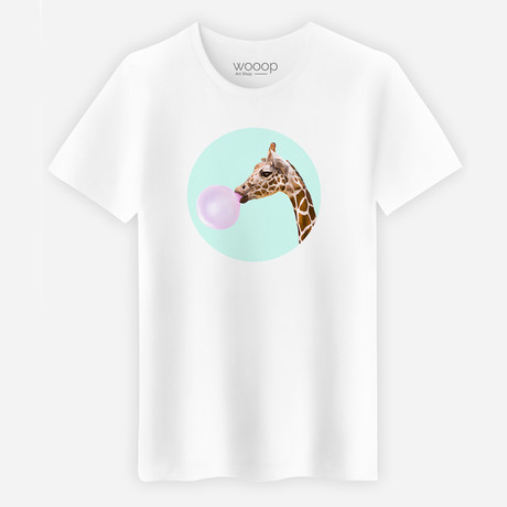 Giraffe T-Shirt // White (S)