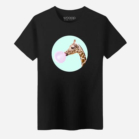Giraffe T-Shirt // Black (S)