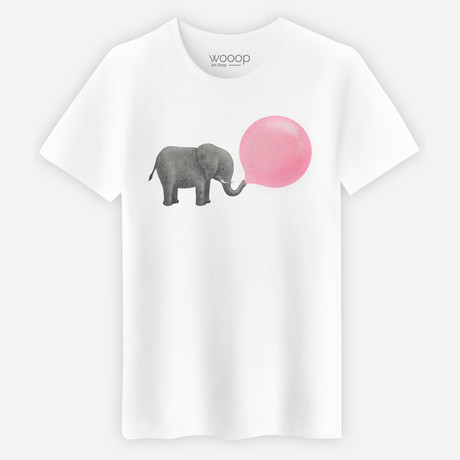 Elephant T-Shirt // White (M)