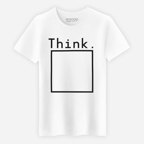 Think Box T-Shirt // White (S)
