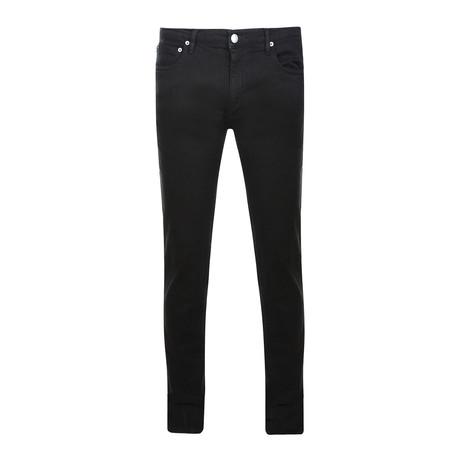 Idol Saito Skinny Jeans // Black (28WX32L)