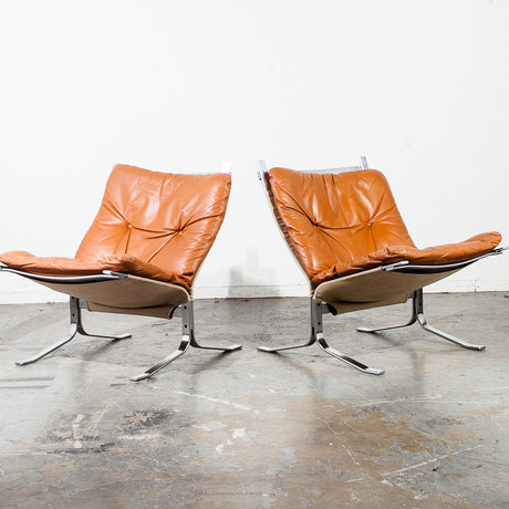 Ingmar Relling Norwegian Danish Westnofa Lounge Chairs // Set Of 2