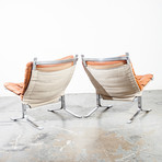 Ingmar Relling Norwegian Danish Westnofa Lounge Chairs // Set Of 2