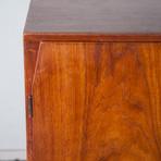Danish Teak Credenza Highboard Cabinet
