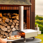 Ooni 3 Pizza Oven, Cover/Bag and Pizza Peel