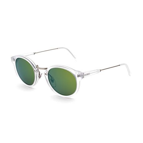 Unisex Panama Sunglasses // Blue Green
