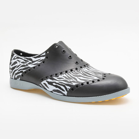 Patterns Zebra Oxford // Black + White (US: 7)