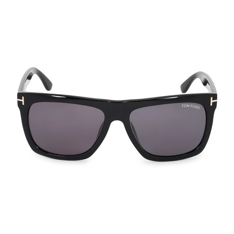 Morgan Sunglasses // Black + Gray