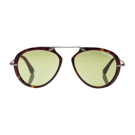 Aaron Sunglasses // Tortoise + Green