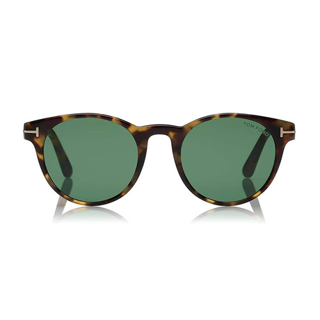 Palmer Sunglasses // Havana + Green