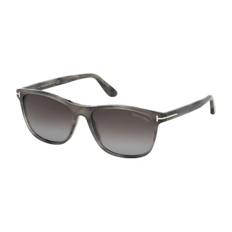 Men's Nicolo Sunglasses // Gray Havana + Gray