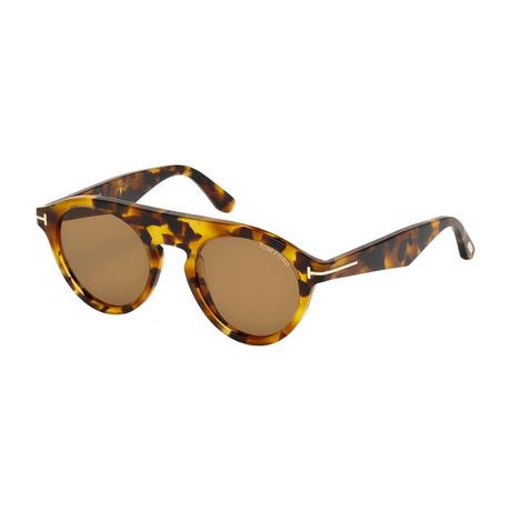 Men's Christopher Sunglasses // Blonde Tortoise + Brown