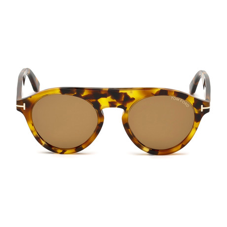 Men's Christopher Sunglasses // Tortoise + Brown