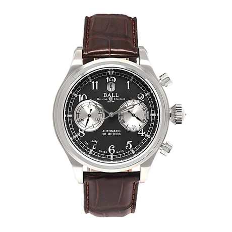 Ball Trainmaster Cannonball S Chronograph Automatic // CM1052D-L2FJ-GY // New