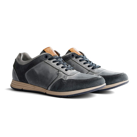 Corton Leather // Light Gray (Euro: 40)