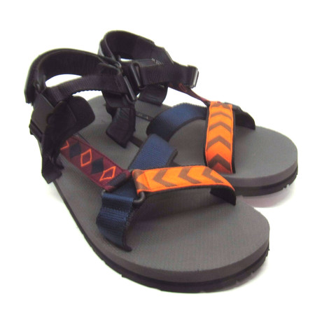 Prada // Nylon Sandals // Orange (US: 6)