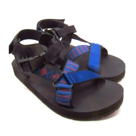 Prada // Nylon Sandals // Blue (US: 6)