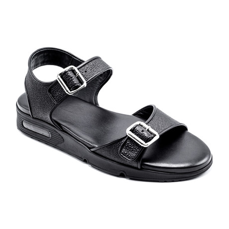 Givenchy // Leather Sandal // Black (US: 6)