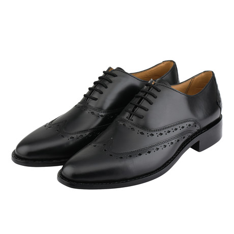 Wingtip Oxford Goodyear Welted // Black (US: 8)