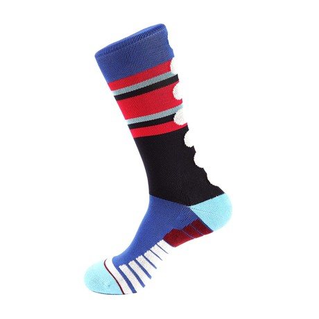 Workout Athletic Socks // Red + White + Blue
