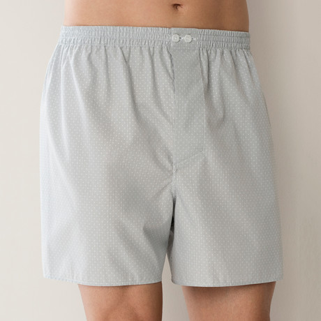 Boxer Shorts // Silver (S)