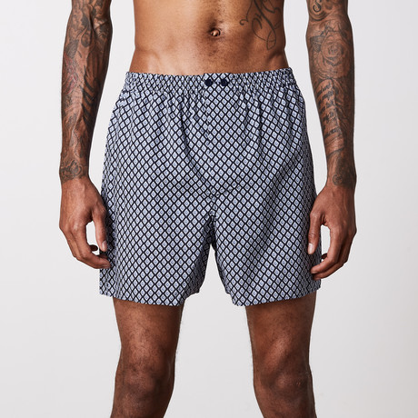 Boxer Shorts // Mid Blue (S)