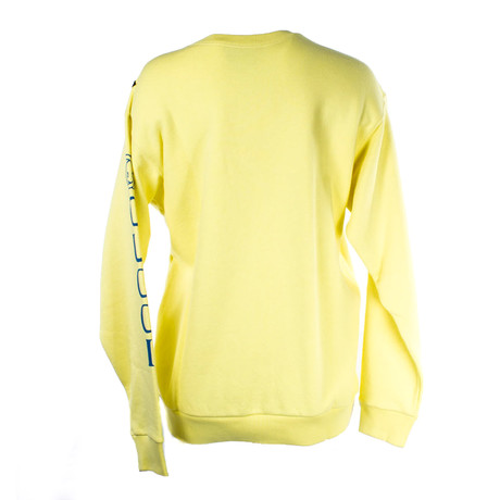 Women's Logo-Printed Sweatshirt // Yellow (XS)