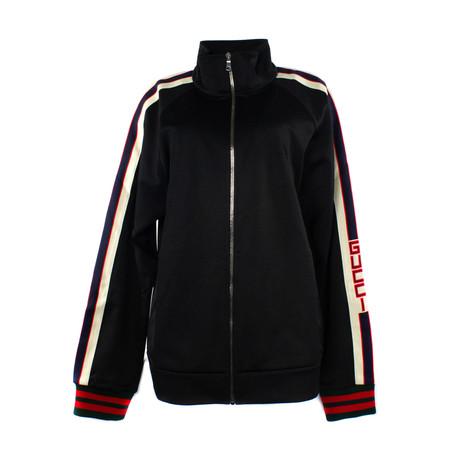 Men's Technical Jersey Jacket // Black (XS)