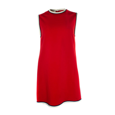 Women's Stretch Viscose Tunic Top // Red (US: 34)