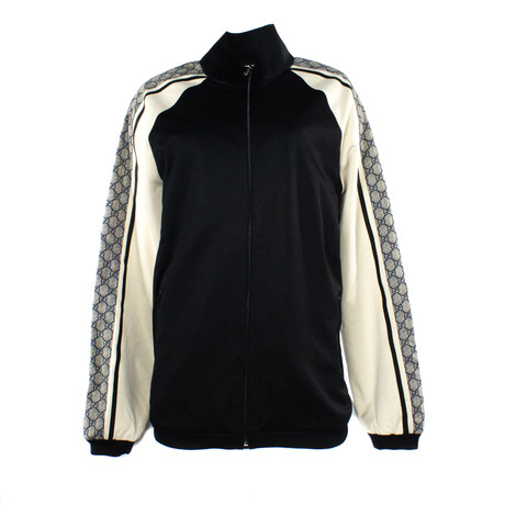 Men's Technical Jersey Jacket // Black + White (XS)