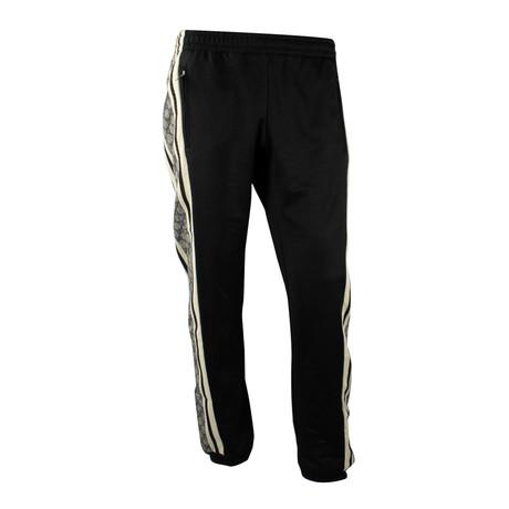 Men's Oversize Technical Jersey Track Bottoms // Black (XS)