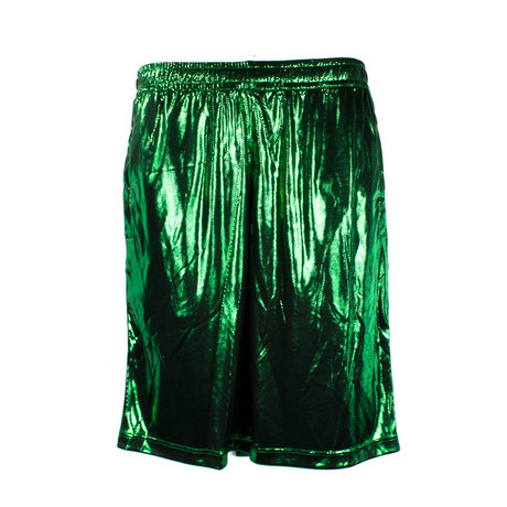 Men's Laminated Jersey Shorts // Multicolor (XS)